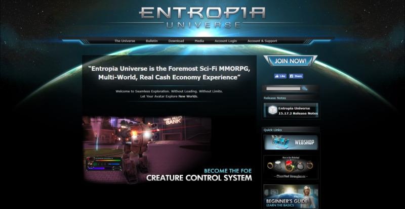 Entropia Universe, juego parecido a IMVU