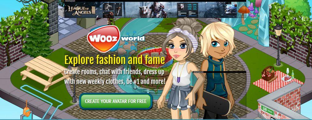Woozworld, juego parecido a IMVU