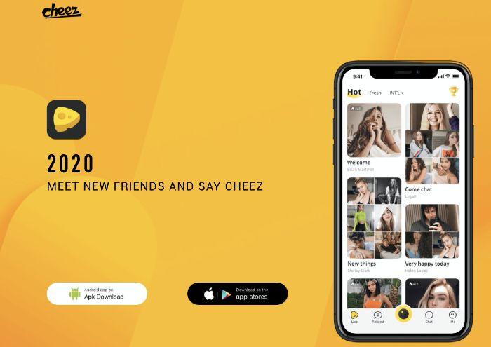 Cheez es una app como Tiktok