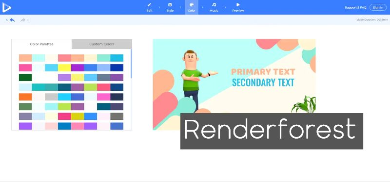 Renderforest como alternativa a Powerpoint
