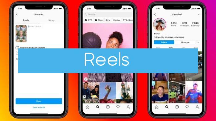 Reels es una app parecida a Tiktok