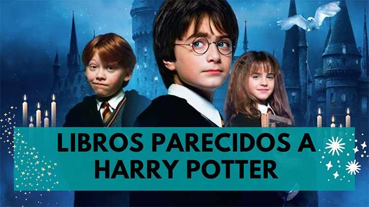 libros parecidos a harry potter