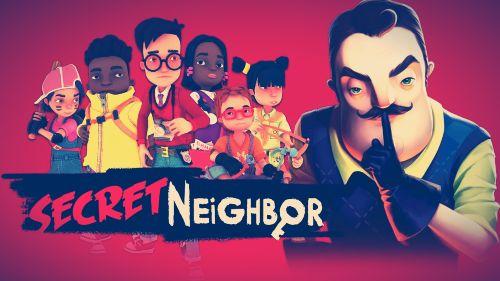 secret neighbor es un juego parecido a Human Fall Flat