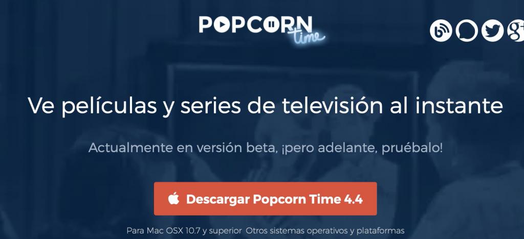 popcorn es una opcion a megadede