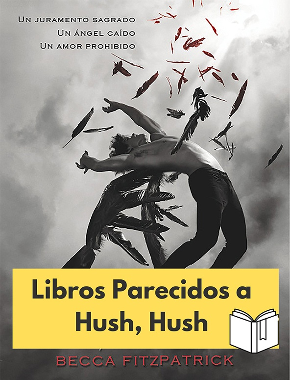 libros parecidos a hush hush