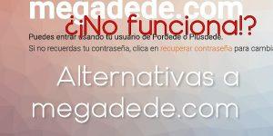 Apps y webs alternativas a Megadede